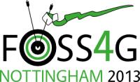 logo of FOSS4G 2013